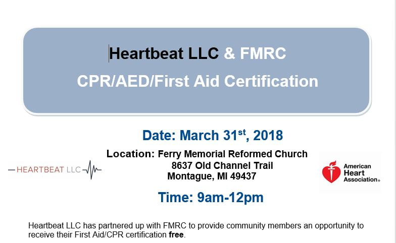 cpr/aed - ferry memorial reformed church